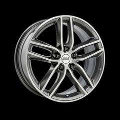 Диск колесный BBS SX 9x20 5x120 ET42 CB82.0 platinum silver/diamond cut