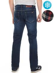 LN854 джинсы мужские утепленные, синие
