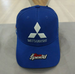 Кепка Митсубиси синяя (Бейсболка Mitsubishi)
