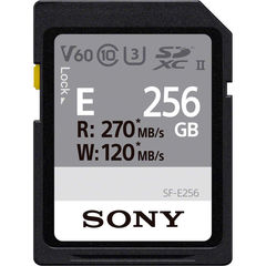 Карта памяти Sony 256GB SF-E Series UHS-II SDXC 270 / 120