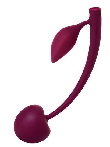 Бордовая вагинальная вишенка WILD CHERRY - 13 см.