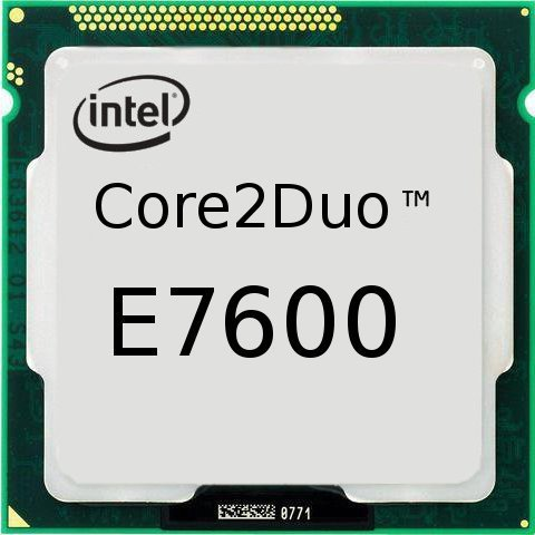 процессор Intel S-775 Core2Duo E7600 (3,06Hz) 2C 3mb Cache oem