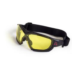 Парашютные очки Akando Extreme c резинкой желтые