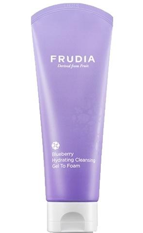 Увлажняющая гель-пенка для умывания с черникой Blueberry Hydrating Cleansing Gel To Foam
