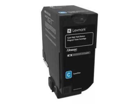 Тонер-картридж для принтеров Lexmark CS720 пурпурный (magenta). Ресурс 7000 стр (74C0S30)