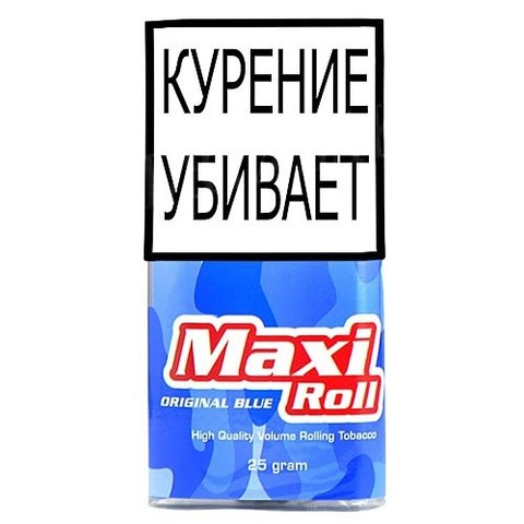 Табак MAXI ROLL ORIGINAL BLUE (25 гр)