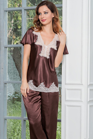 Пижама Marilin 3106 Brown Mia-Amore