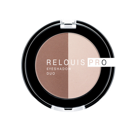 Relouis pro Тени для век Eyeshadow duo тон 104
