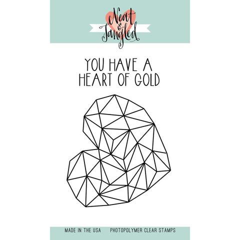 Набор силиконовых штампов Heart of Gold