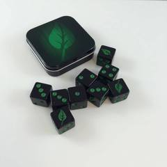 Legion Supplies - Iconic Life 9 шестигранных кубиков в железной коробочке