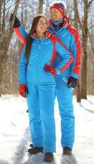 Мужской тёплый прогулочный лыжный костюм Nordski National New