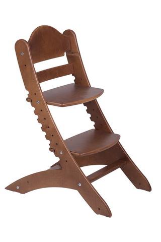 Детский растущий стул Два кота М1 Старинный орех