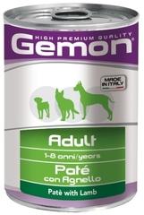 Gemon for dog with lamb консервы для собак паштет с ягненком