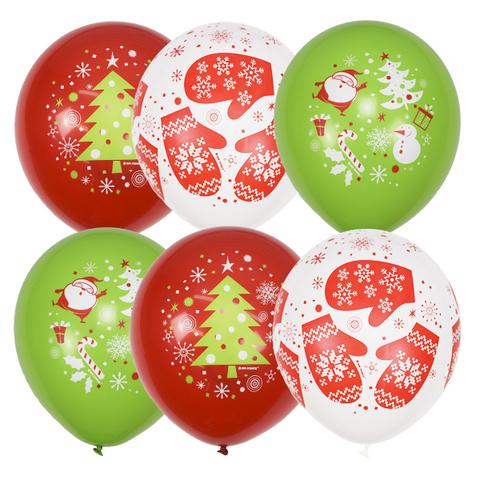 Воздушные шары новогодние