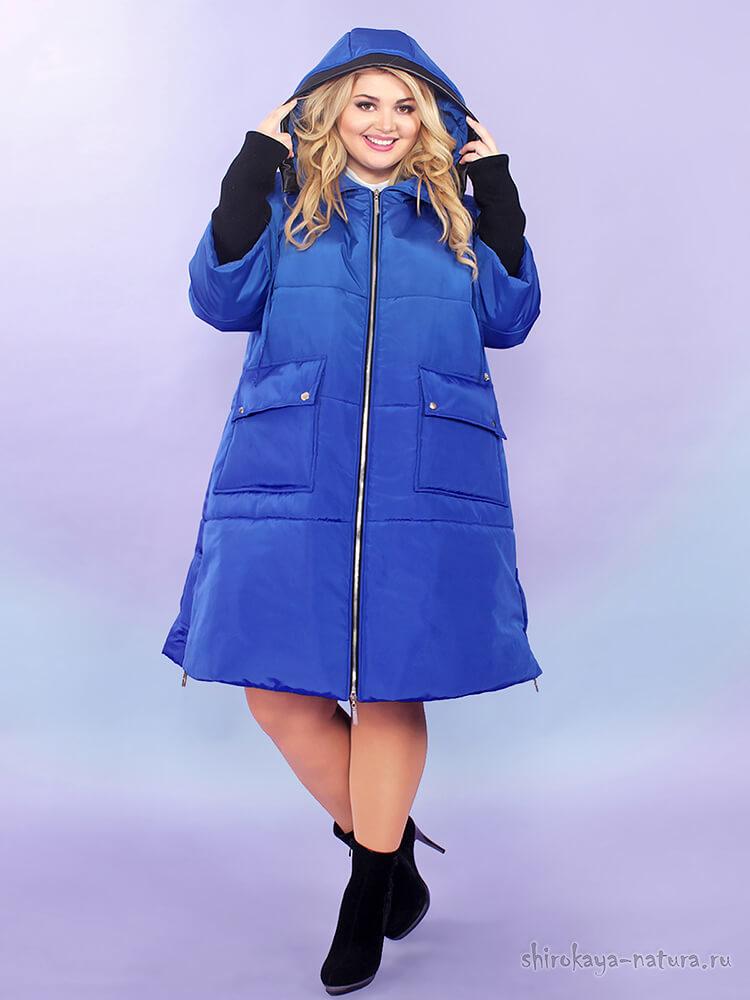 Зимняя куртка Greenway васильковый