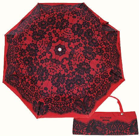 Зонт складной Moschino 7422-C Lace