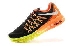 Кроссовки Мужские Nike Air Max 2015 Black Yellow Orange