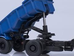 MAZ-5432 with semitrailer MAZ-5232V gray-blue AutoHistory 1:43