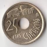 K6117, 1994, Испания, 25 песет Канары