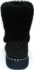 Короткие сапоги без каблука Kluchini 13044k289
