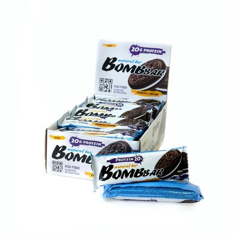 Протеиновый батончик Bombbar Печенье с кремом, 60 гр