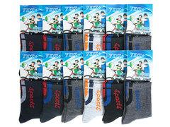 C9073 носки подростковые (36-41), цветные (12шт)