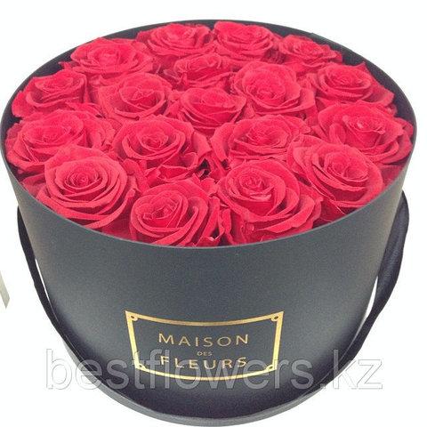 Коробка Maison Des Fleurs с розами 5