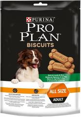 Лакомство для собак, Purina Pro Plan Dog Biscuits, с ягненком и рисом