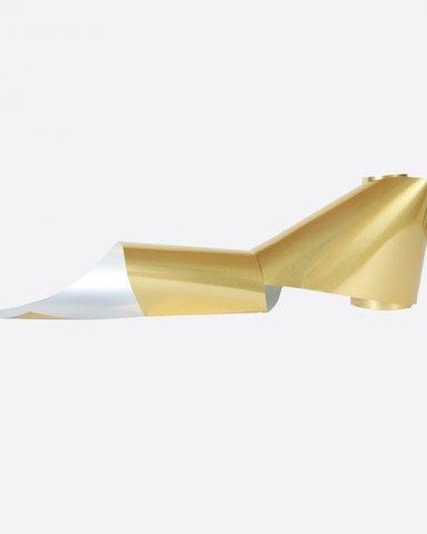 Фольга металлик матовая золото 228