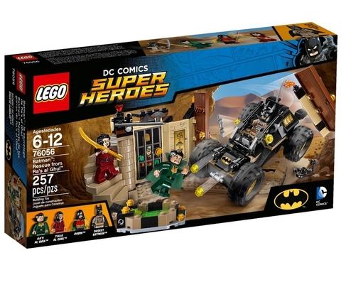 LEGO Super Heroes: Бэтмен: Спасение от Ра'с аль Гула 76056