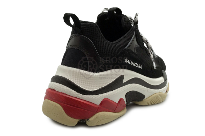 Balenciaga Women's Triple S Black/White