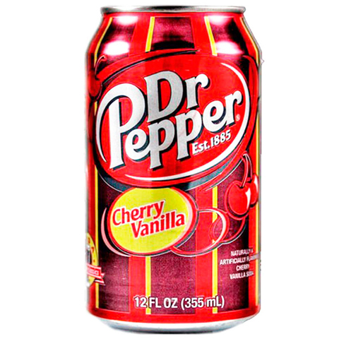 Газировка Dr. Pepper Cherry Vanilla
