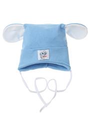 10057-3 шапка для мальчиков, голубая