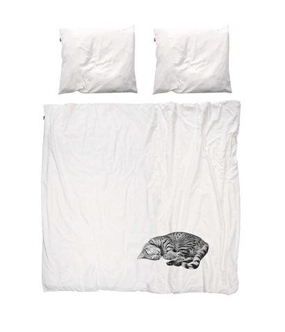 Комплект постельного белья Кошка Олли 200x220см, Snurk