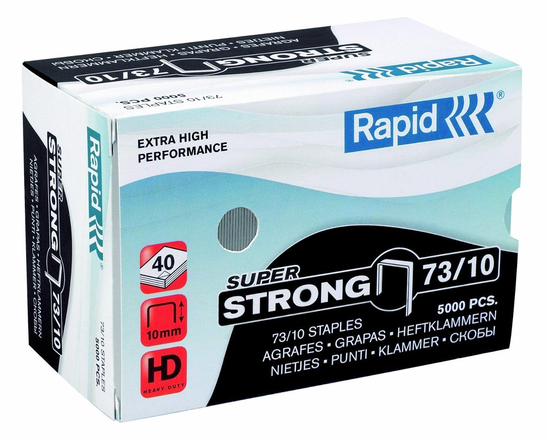 Скобы для степлера 10мм  тип73 5000 шт Rapid 24890400