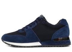 Кроссовки Мужские Louis Vuitton Run Away Suede Blue Classic Edition