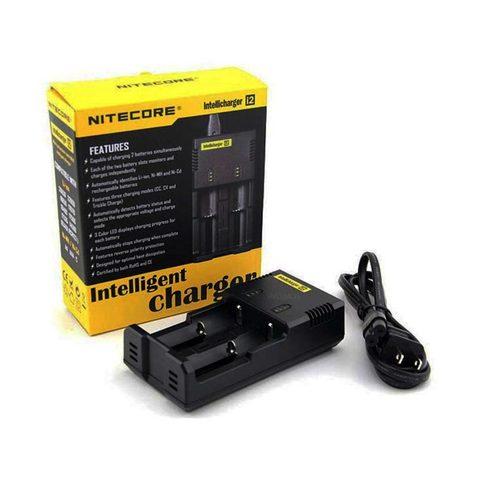 Зарядное устройство Nitecore Intellicharger I2 V2