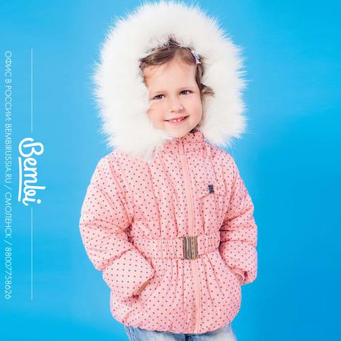 КТ118 Куртка для девочки Зима