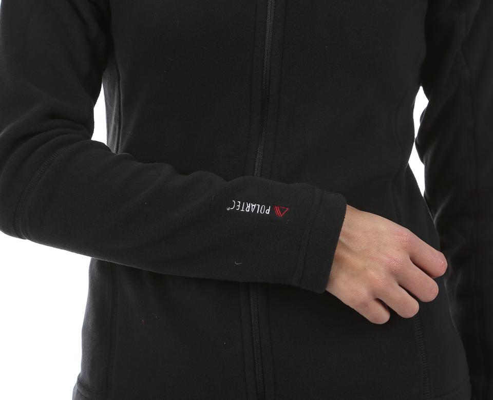 Женская толстовка 8848 Altitude CHERRY MICRO  (677108) черный фото