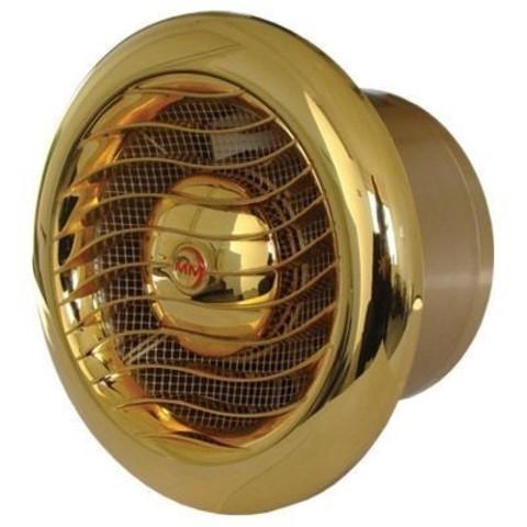 Вентилятор накладной MMotors JSC MM-100 LUX GOLD (24 Karat Gold)