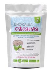 Биокаша Овсяная с пророщенным овсом, ананасом и кокосом, 220 гр. (Натурпродукт)