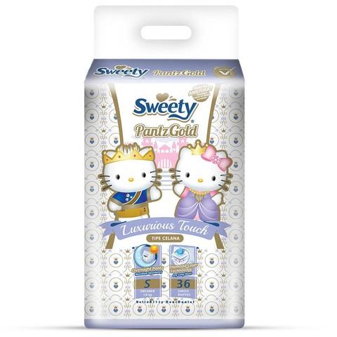 Трусики Sweety Pantz Gold S36 (3-6кг)