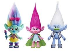 Игрушки персонажей мультика Тролли — Trolls Dolls