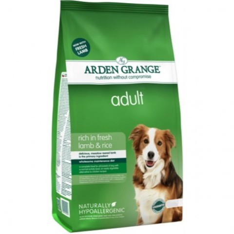 ARDEN GRANGE ADULT DOG LAMB & RICE 15 кг