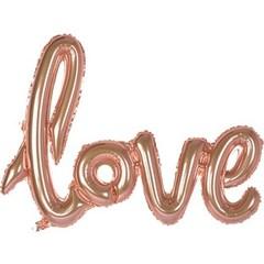 К ФИГУРА LOVE Rose Gold, 108 см * 64 см.