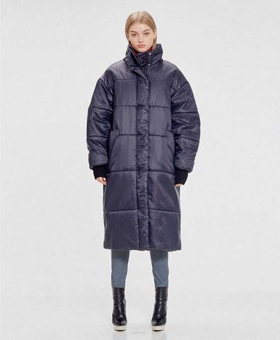 Зимнее пальто Ева dark blue