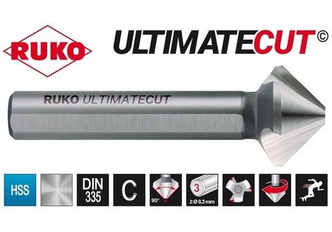 Зенковка ц/х 90° 12,4мм (DIN74BF M6) DIN335C 3z HSSE-Co5 RunaTec UltimateCut Ruko 102776EP