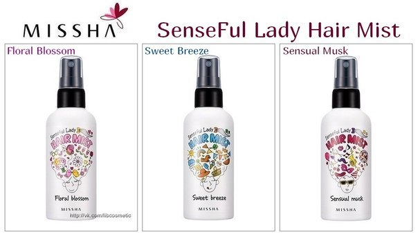 MISSHA Senseful Lady Hair Mist