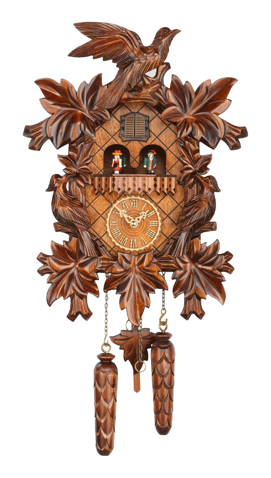 Часы настенные Часы настенные с кукушкой Trenkle 369 QMT HZZG chasy-nastennye-s-kukushkoy-trenkle-369-qmt-hzzg-germaniya.jpg