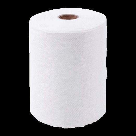 Одноразовые полотенца, салфетки Полотенце эконом из хлопка с тиснением 35*70см (50 шт/рулон) Полотенце_рулон_с_тиснением.png